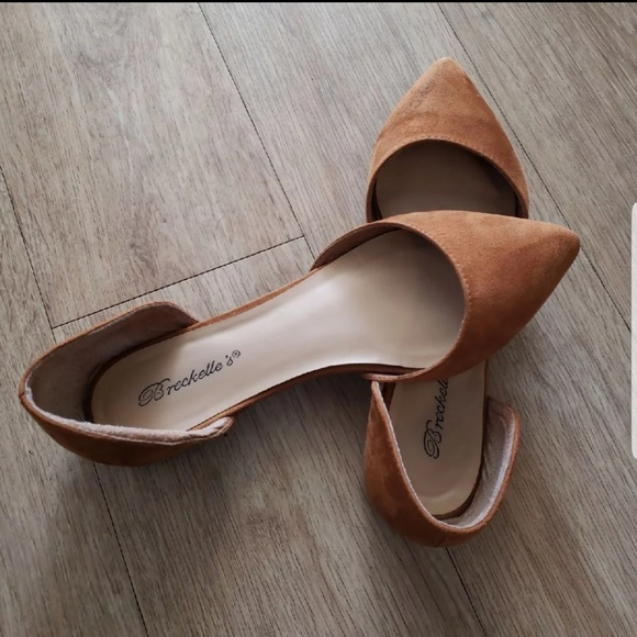 202f6331cb3686 Breckelles Shoes - Breckelle s cute Tan Flats